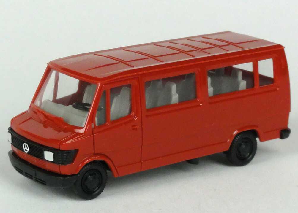 1 87 mercedes benz 207d bus karminrot herpa 4070. Black Bedroom Furniture Sets. Home Design Ideas