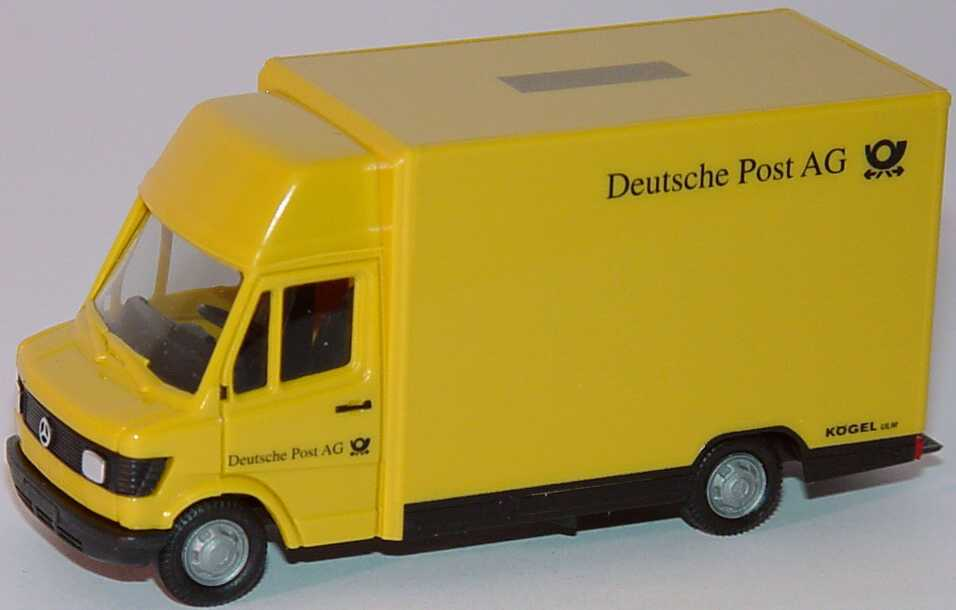 mercedes benz 207d k gelaufbau deutsche post ag herpa 042444 in der modellauto galerie. Black Bedroom Furniture Sets. Home Design Ideas
