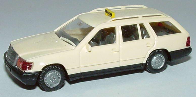 1 87 mercedes benz 230te s124 taxi wiking 14901. Black Bedroom Furniture Sets. Home Design Ideas