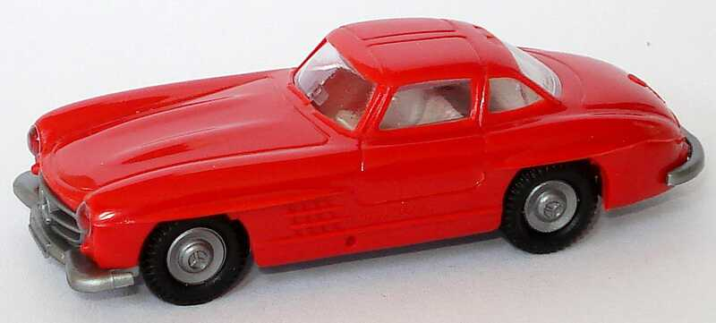 1:87 Mercedes-Benz 300SL Gullwing ´54 rot (oV)