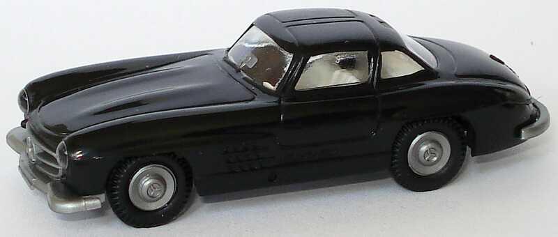 1:87 Mercedes-Benz 300SL Gullwing ´54 schwarz. IA weiß (oV)