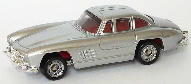 1:87 Mercedes-Benz 300SL Gullwing ´54 silbermet. (oV)