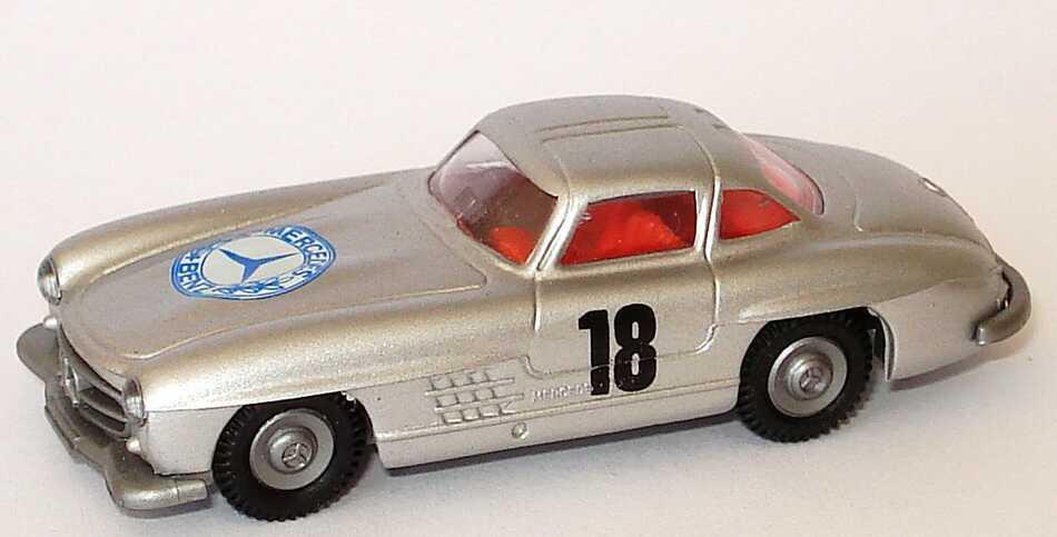 1:87 Mercedes-Benz 300SL Gullwing ´54 silbermet. Nr.18 (oV)