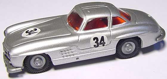 1:87 Mercedes-Benz 300SL Gullwing ´54 silbermet. Nr.34 (oV)