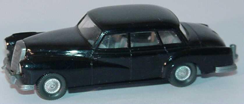 1 87 mercedes benz 300 schwarz alte version bastelware wiking 836. Black Bedroom Furniture Sets. Home Design Ideas
