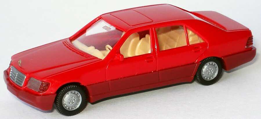 1:87 Mercedes-Benz 500SEL (W140) rot (oV)
