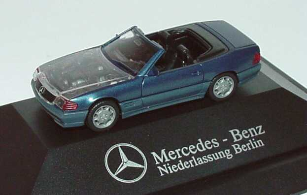 1 87 mercedes benz 500sl r129 blaumet transparente. Black Bedroom Furniture Sets. Home Design Ideas