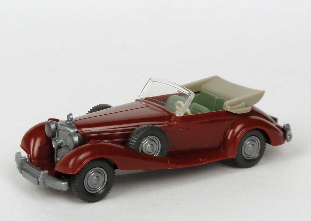 1:87 Mercedes-Benz 540K braunrot, IA resedagrün