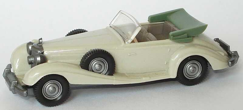 1:87 Mercedes-Benz 540K hellgrau, IA grau (oV)