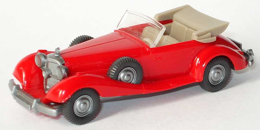 1:87 Mercedes-Benz 540K Cabriolet rot