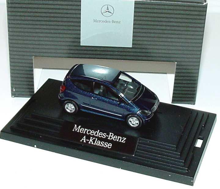 1:87 Mercedes-Benz A-Klasse 3türig (W169) apollblaumet. (MB)