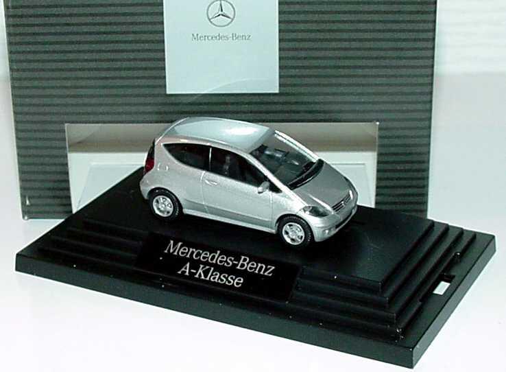 1:87 Mercedes-Benz A-Klasse 3türig (W169) polarsilbermet. (MB)