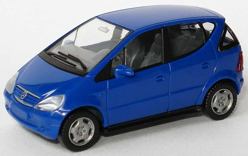 Modellauto Mercedes Klasse W Blau