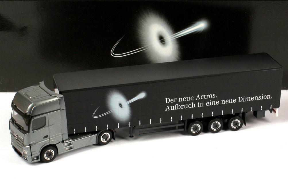 """1:87 Mercedes-Benz Actros 2 Megaspace GpSzg 2/3 """"Aufbruch in eine neue Dimension"""" (MB)"""