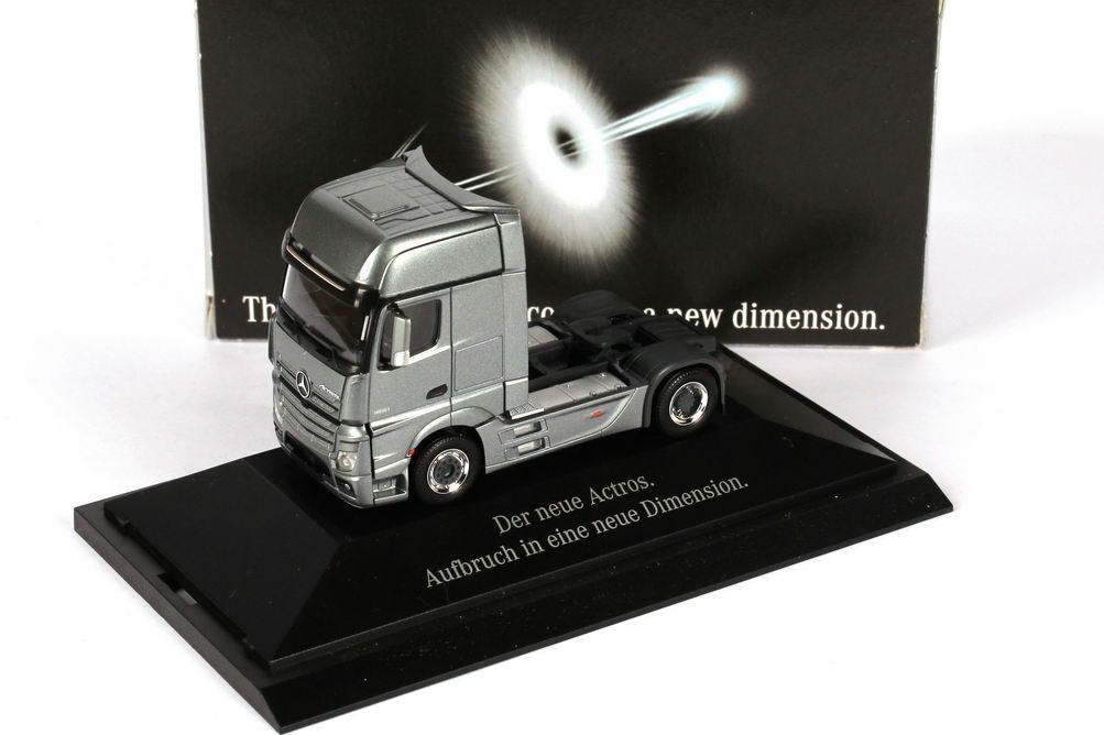 1:87 Mercedes-Benz Actros 2 Megaspace 2a Szgm andorit-grau-met.  (MB)