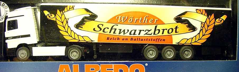"1:87 Mercedes-Benz Actros LH Fv Cv KoSzg 2/3 ""Wörther Schwarzbrot"""