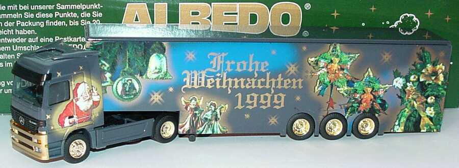 """1:87 Mercedes-Benz Actros LH Fv Cv KoSzg Cv 2/3 """"Weihnachten 1999"""""""