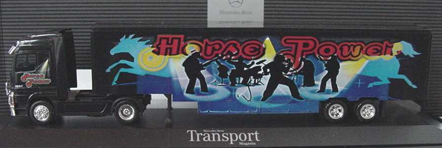 """1:87 Mercedes-Benz Actros LH Fv Cv US-KoSzg 2/2 """"Horse Power"""" (MB)"""