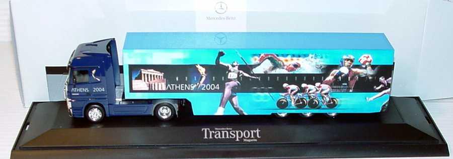 "1:87 Mercedes-Benz Actros LH MP2 Fv Cv KoSzg Cv 2/3 ""Athens 2004"" (MB)"