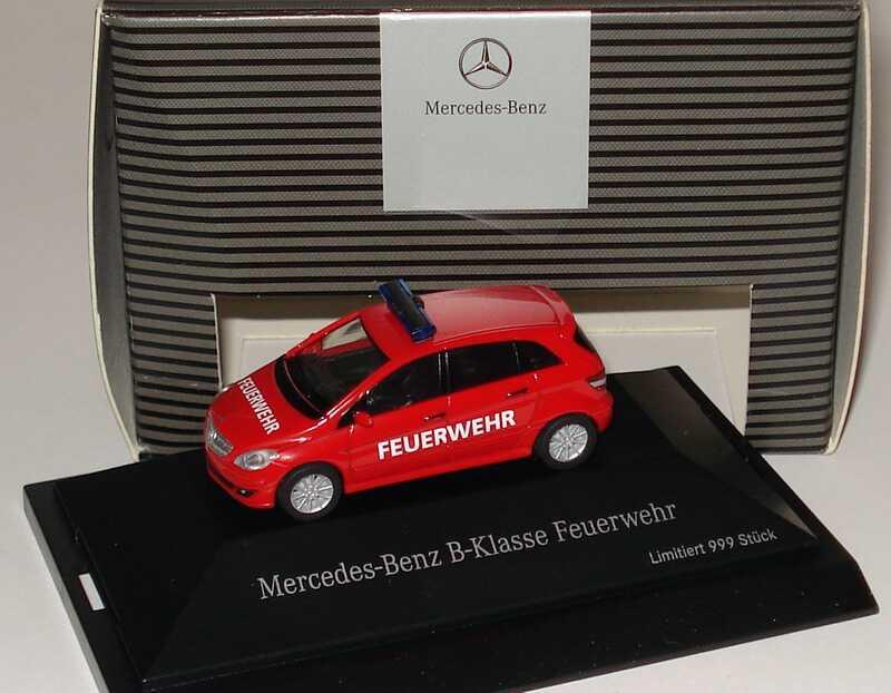 1:87 Mercedes-Benz B-Klasse (W245) Feuerwehr rot (MB)