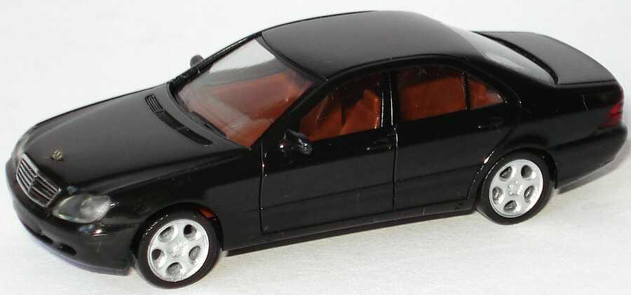 Foto 1:87 Mercedes-Benz Brabus S-Klasse S 5.8 W220 schwarz - herpa 101172