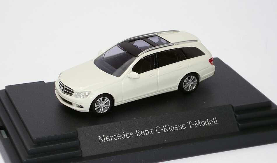 1 87 mercedes benz c class t model avantgarde s204 calcite for Mercedes benz c class t model