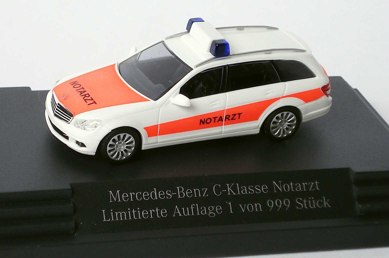 1:87 Mercedes-Benz C-Klasse T-Modell Elegance (S204) Notarzt (MB)