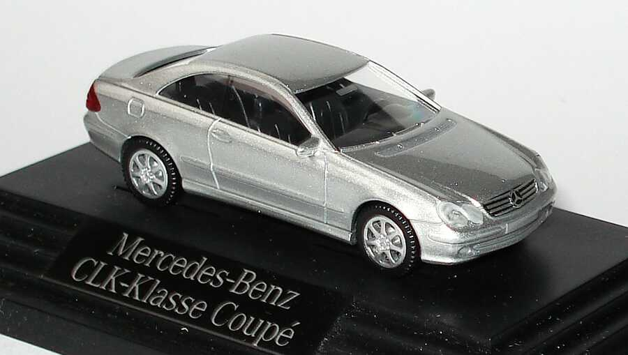 1:87 Mercedes-Benz CLK (C209) brillantsilbermet. (MB)