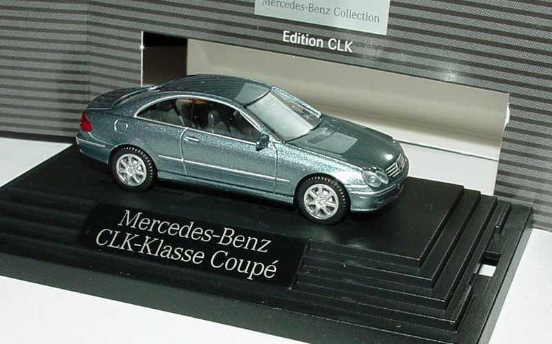1:87 Mercedes-Benz CLK (C209) eisblaumet. (MB)