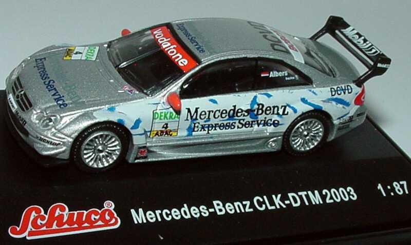 1 87 mercedes benz clk dtm 2003 mercedes benz express for Mercedes benz financial services jobs
