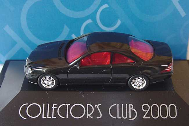 "1:87 Mercedes-Benz CL 600 (C215) schwarz ""Collector´s Club 2000"""