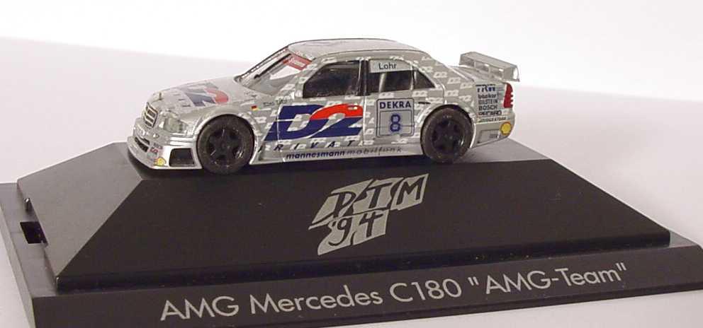 "1:87 Mercedes-Benz C 180 DTM 1994 ""AMG, D2 Privat"" Nr.8, Ellen Lohr (oV)"