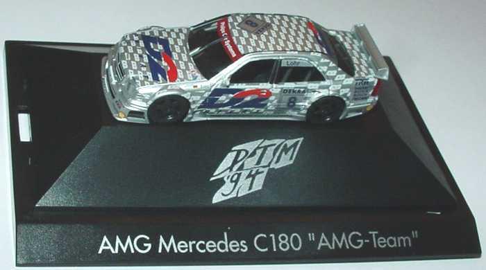"""1:87 Mercedes-Benz C 180 DTM 1994 """"AMG, D2 Privat"""" Nr.8, Ellen Lohr"""