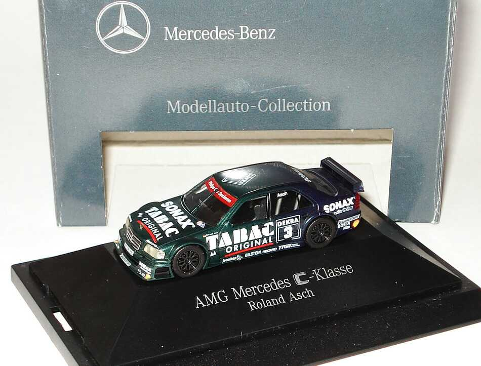 "1:87 Mercedes-Benz C 180 DTM 1994 ""AMG, Tabac/Sonax"" Nr. 3, Roland Asch (MB)"