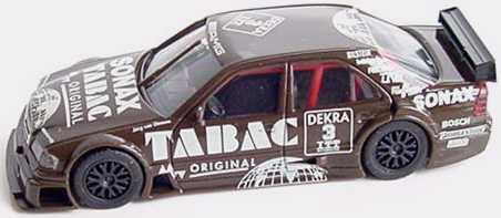 Foto 1:87 Mercedes-Benz C-KLasse W202 DTM 1995 AMG Tabac Sonax Nr. 3 Jörg van Ommen ohne Fensterdrucke - herpa 0364290188043