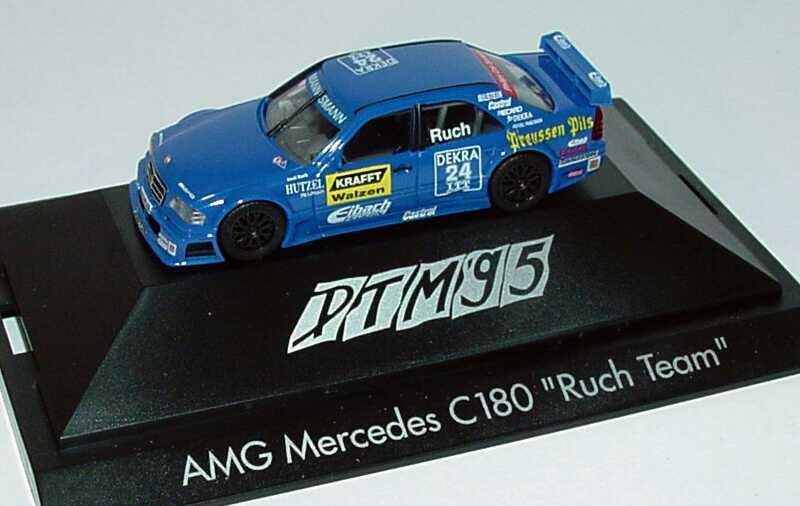 "1:87 Mercedes-Benz C 180 DTM 1995 ""Ruch, Kraft Walzen"" Nr.24, Ruch"