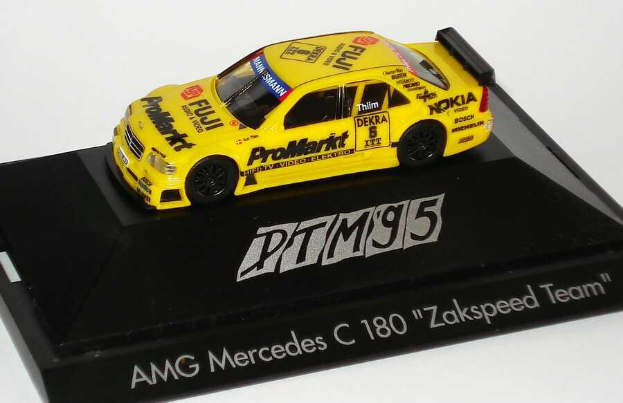"1:87 Mercedes-Benz C 180 DTM 1995 ""Zakspeed, ProMarkt"" Nr. 6, Kurt Thiim"