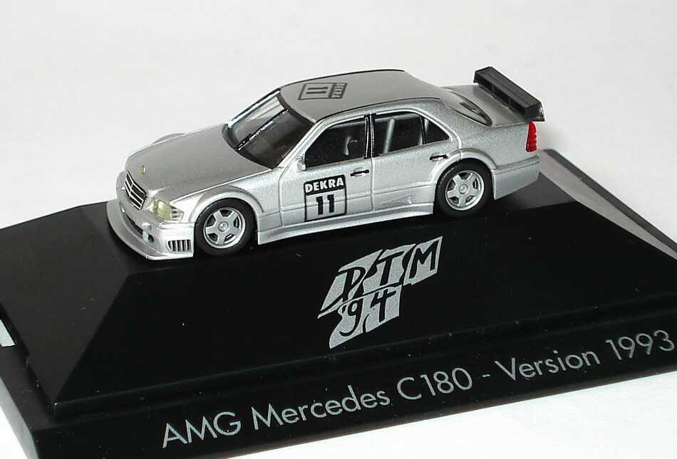 1:87 Mercedes-Benz C 180 DTM silbermet. Nr.11 (Prototyp IAA 1993)