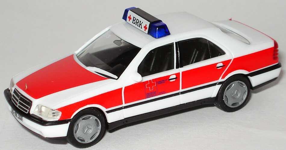 """1:87 Mercedes-Benz C 220 (W202) """"BRK Würzburg, 10/3"""" (oV)"""