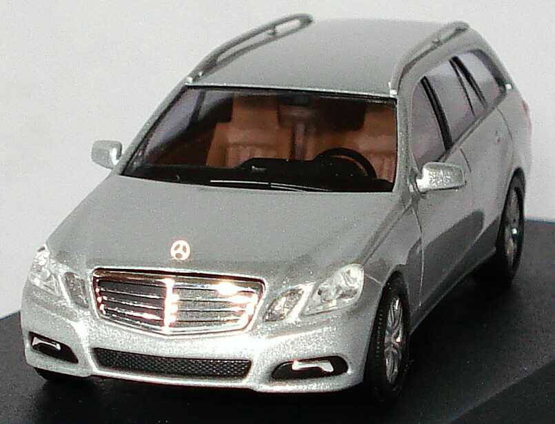 1 87 mercedes benz e klasse t modell s212 avantgarde iridiumsilber dealer ed ebay. Black Bedroom Furniture Sets. Home Design Ideas