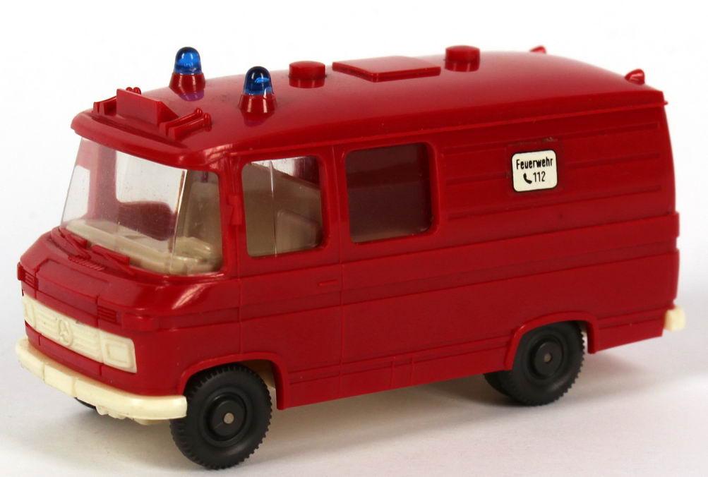 1 87 mercedes benz l406 rettungswagen feuerwehr aufkleber notruf 112 runde warnleuchten wiking 608. Black Bedroom Furniture Sets. Home Design Ideas