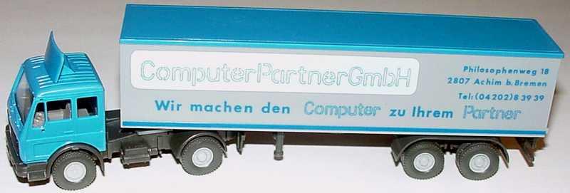 "1:87 Mercedes-Benz (L) KoSzg 2/2 ""Computer Partner GmbH, 2807 Achim b. Bremen"""