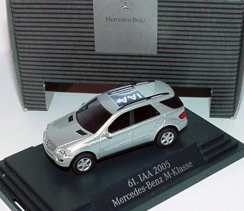 "1:87 Mercedes-Benz M-Klasse (W164) silbermet. ""61. IAA 2005"" (MB)"