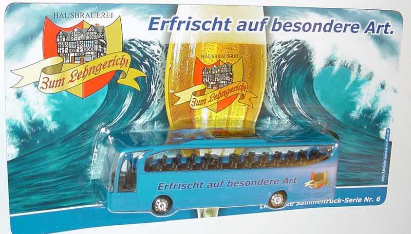 """1:87 Mercedes-Benz O 580 Travego 2a  """"Hausbrauerei Zum Lehngericht"""""""