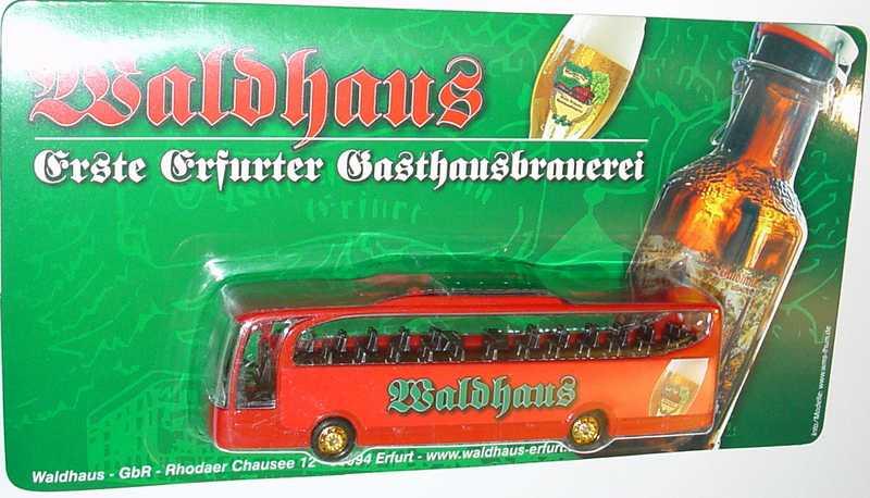 "1:87 Mercedes-Benz O 580 Travego 2a  ""Waldhaus - Erste Erfurter Gasthausbrauerei"""