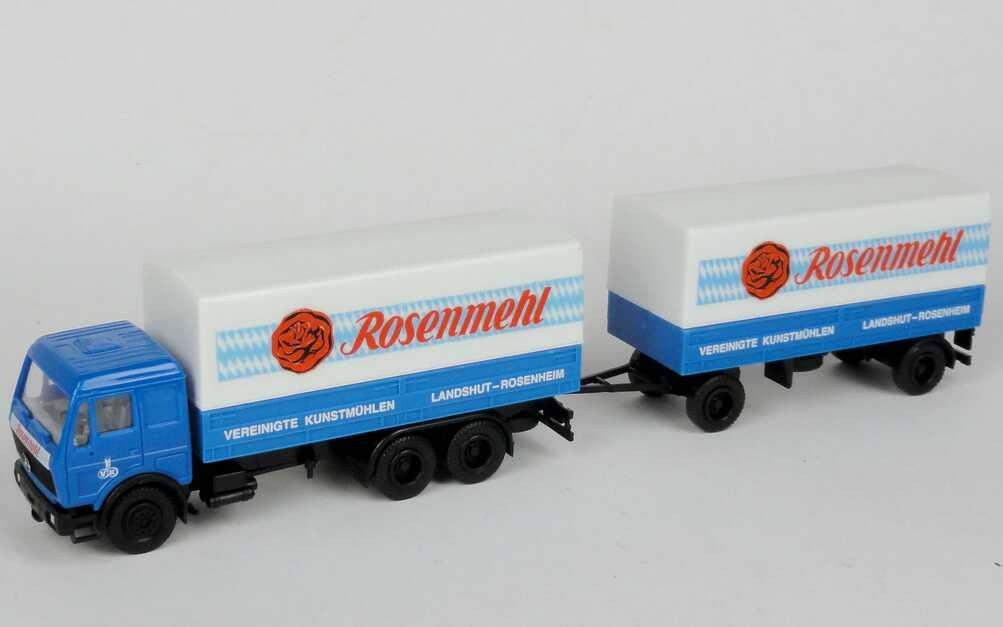 """1:87 Mercedes-Benz PPHgz 3/2 """"Rosenmehl - Vereinigte Kunstmühlen"""""""