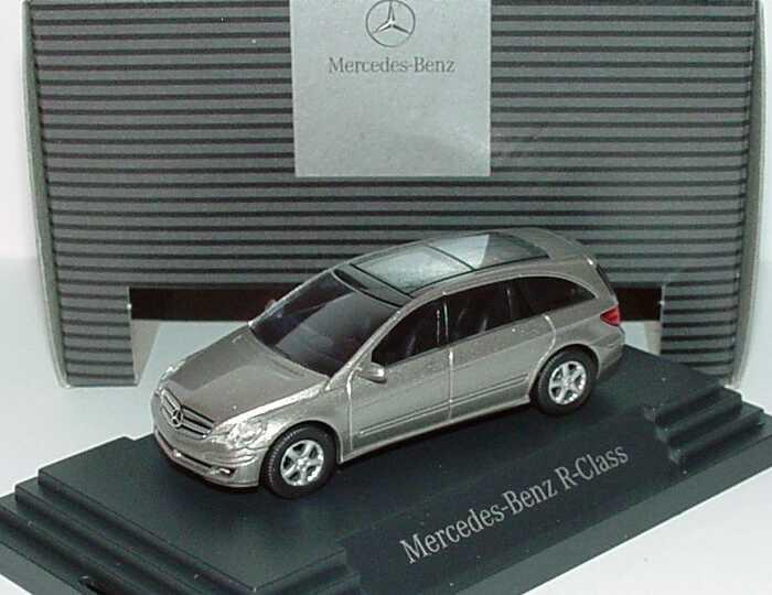 1:87 Mercedes-Benz R-Klasse (W251) 2005 cubanitsilbermet. (MB)