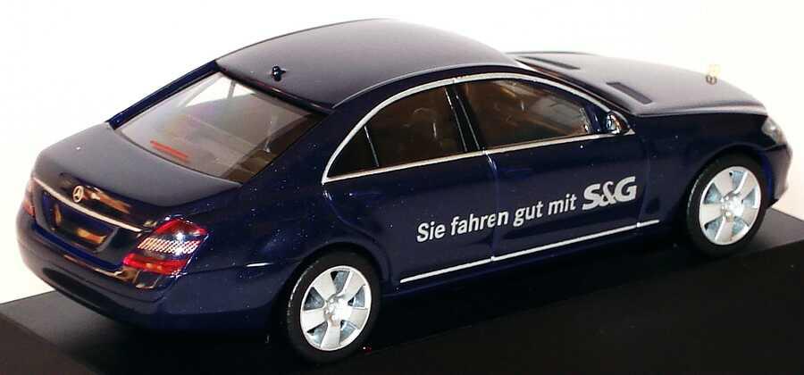 Mercedes Benz S Klasse W221 Dunkelblau Met Die Neue S