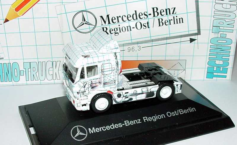 "1:87 Mercedes-Benz SK Fv 2a Szgm ""Techno-Truck"" (MB Region-Ost / Berlin)"