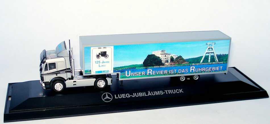 "1:87 Mercedes-Benz SK Fv Cv JuKoSzg 2/3 ""Unser Revier ist das Ruhrgebiet, Jubiläums-Truck 125 Jahre Autohaus Lueg"""
